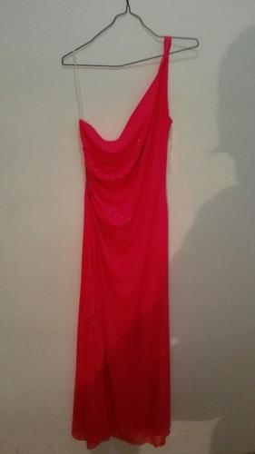 vestido rosado  talla m