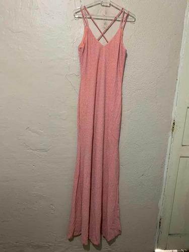 vestido rose longo para madrinha