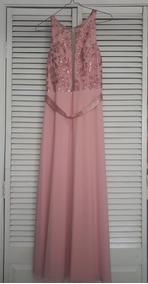 Rue Paix Vestido Vestidos De Mujer Largo Rosa En Mercado