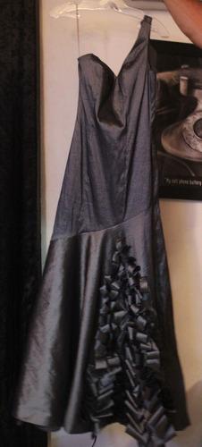 vestido rue de la paix talla 6 corte sirena