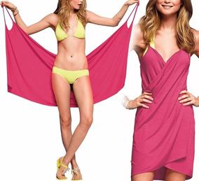 ff85d2450e11 Canga De Praia Pink Lisa - Cangas de Praia Femininos com o Melhores Preços  no Mercado Livre Brasil