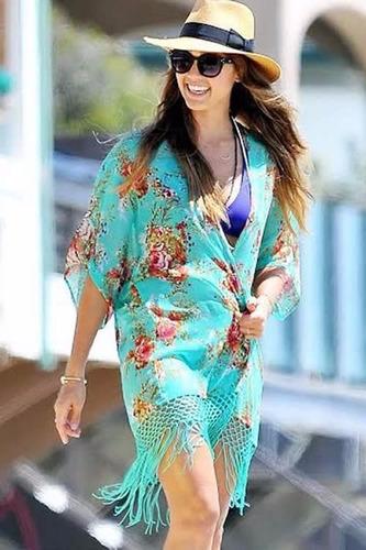vestido salida de playa alberca cover up traje de baño pareo