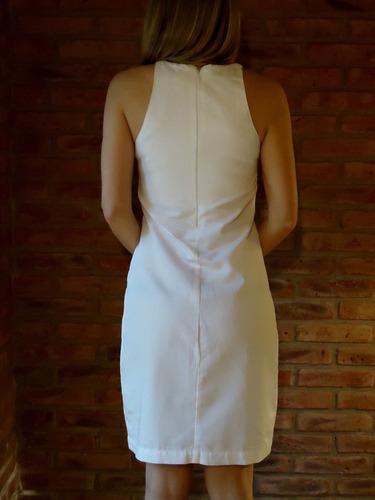 vestido sarah pacini italia color marfil t s/m