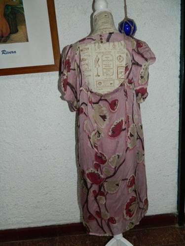 vestido seda italiana