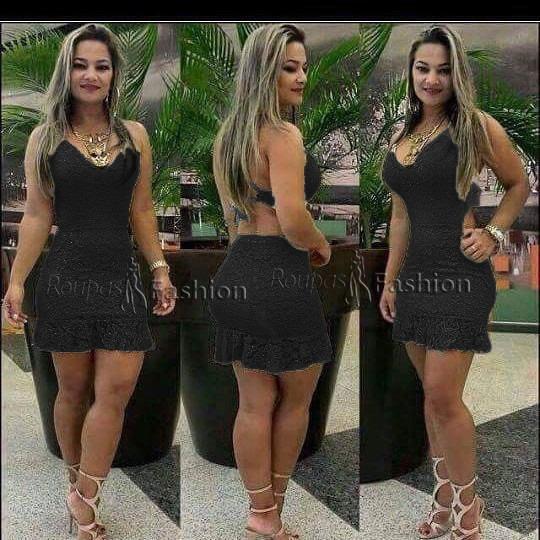 82537559f Vestido sereia curto preto – Vestidos de noche con estilo 2018