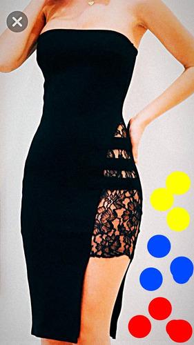 vestido sexy cortos y largos para jovenes y damas elegante,