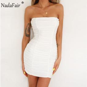 Vestido Coppel Strapless Vestidos Cortos Mujer Vestidos De