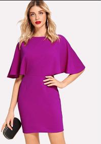 Vestidos Color Bugambilia De Fiesta Casual De Mujer En