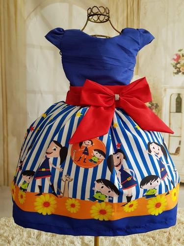 vestido show da luna luxo tematico