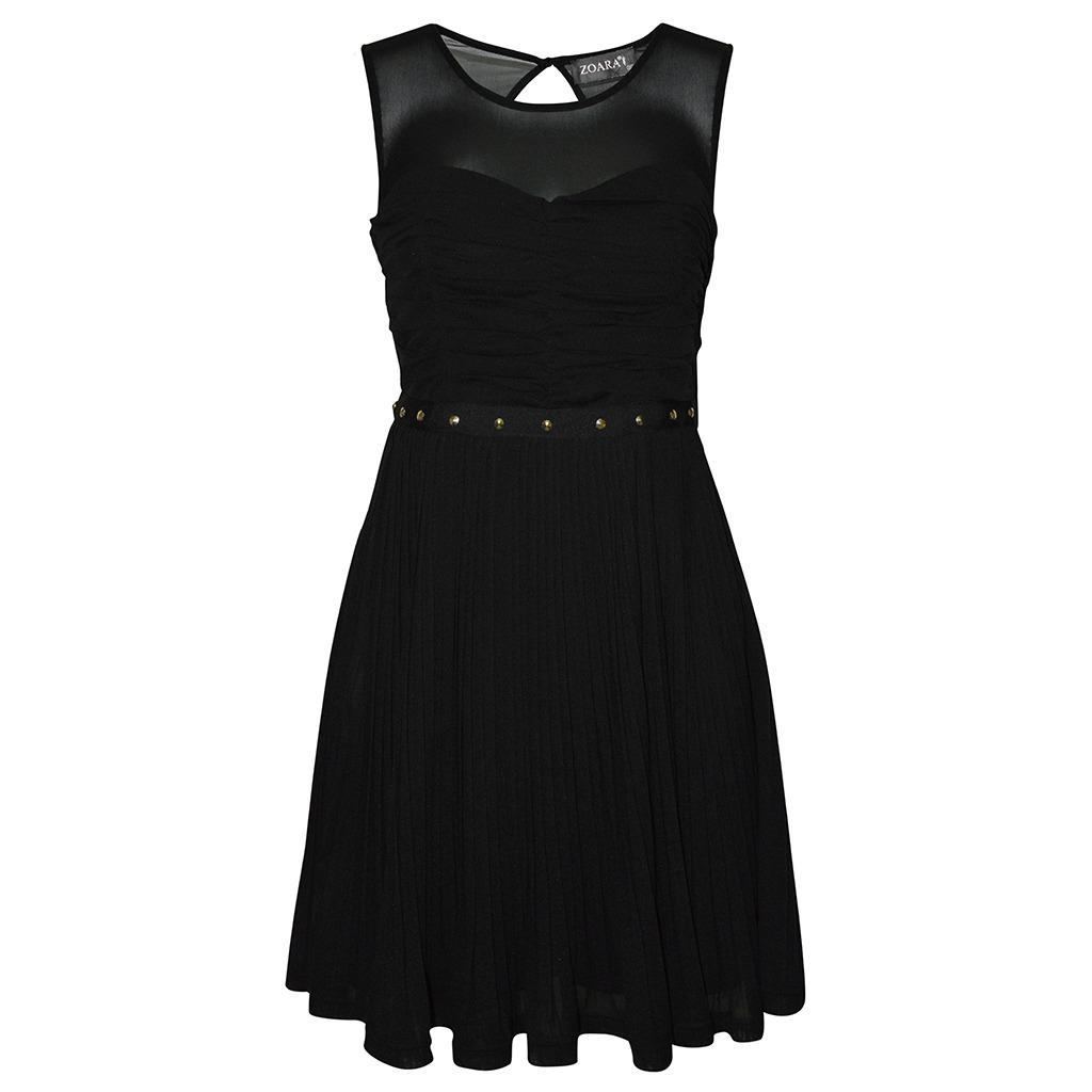 3561ae87da Vestido Sin Manga Estampada Dama Mujer Negro Zoara -   211.00 en ...
