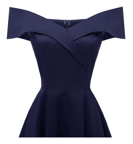 vestido sin mangas elegante para mujer con cuello en v,