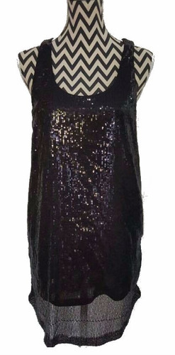 vestido sin mangas lentejuelas perfect tisi