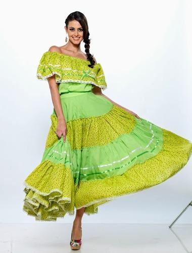 vestido sinaloa mazatlan regional mexicana traje disfraz