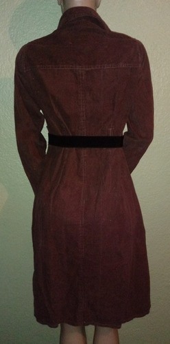 vestido sobretudo evangelico inverno acinturado veludo