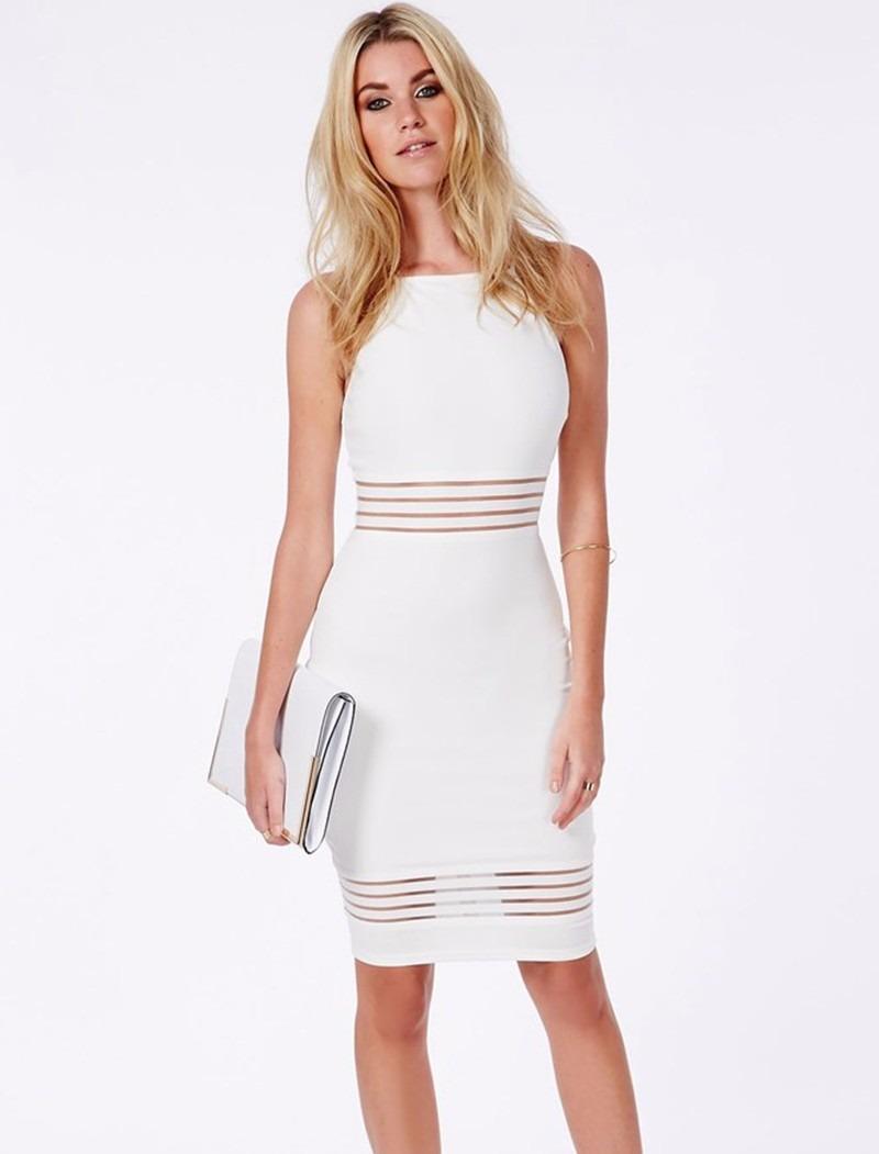 1e4998ee06 vestido social branco - pronta entrega. Carregando zoom.