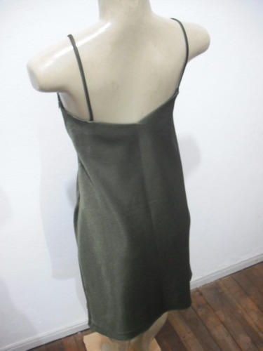 vestido social verde forrado tam m usado bom estado