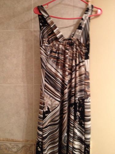 vestido solero de seda fría con motivos amazónicos