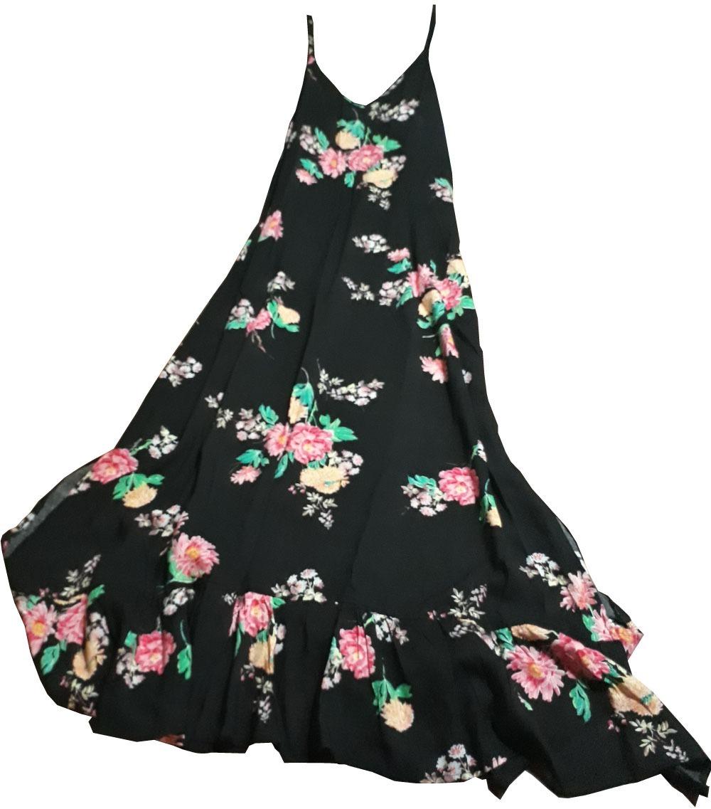 Vestido de flores verano 2019
