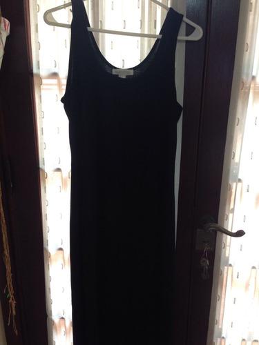 vestido solero negro forever 21