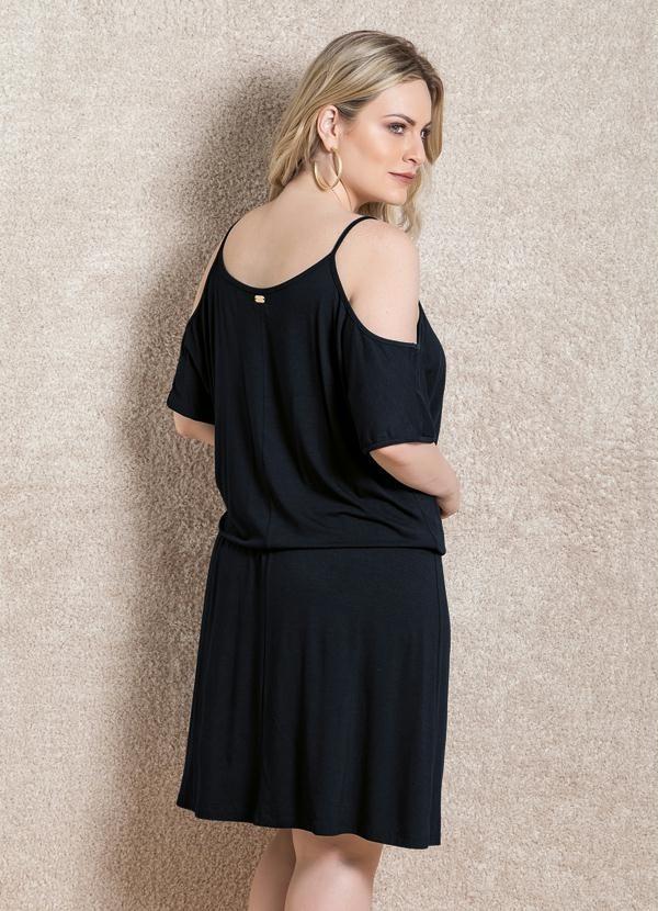 6121bdf58 vestido soltinho ciganinha vazado no ombro roupas femininas. Carregando zoom .