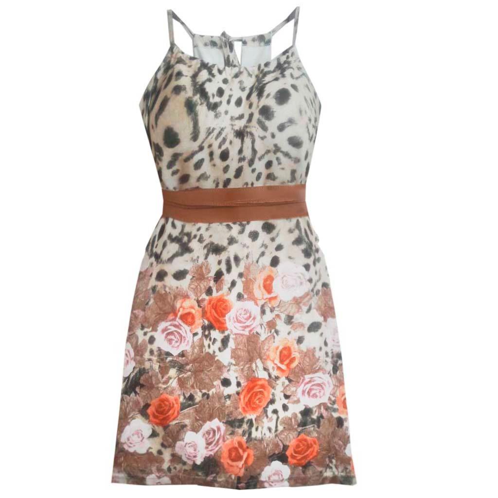 4107e97626f9 vestido soltinho floral simples e bonito para o dia a dia. Carregando zoom.