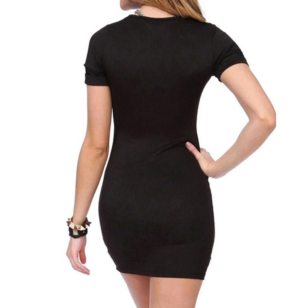 Vestido negro corto sport