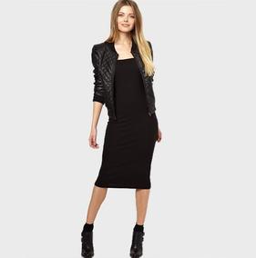 1d7e0f0e6061 Vestido Guess Xs Blanco - Vestidos de Mujer Casual Largo Negro en ...