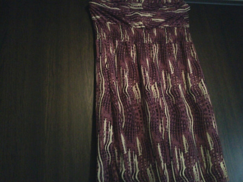 vestido strapless corto de seda fría