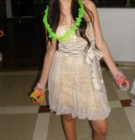 ec265092a Vestido De Fiesta Strapless Corto Con Tul Impecable! - Vestidos en ...