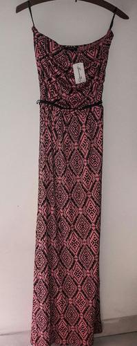 vestido strapless largo forever 21 ¡nuevo!