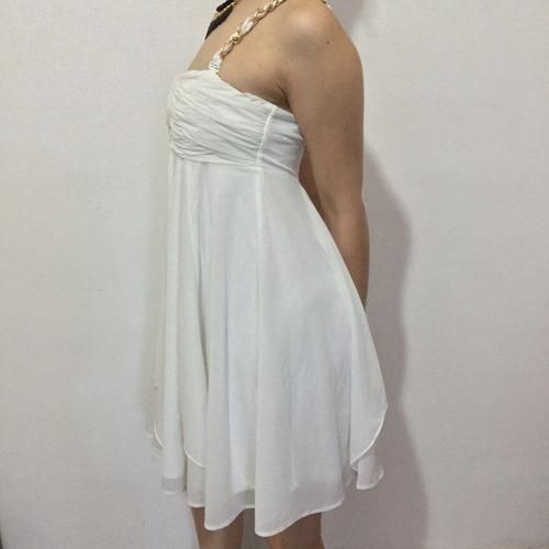 vestido strapless only luxury