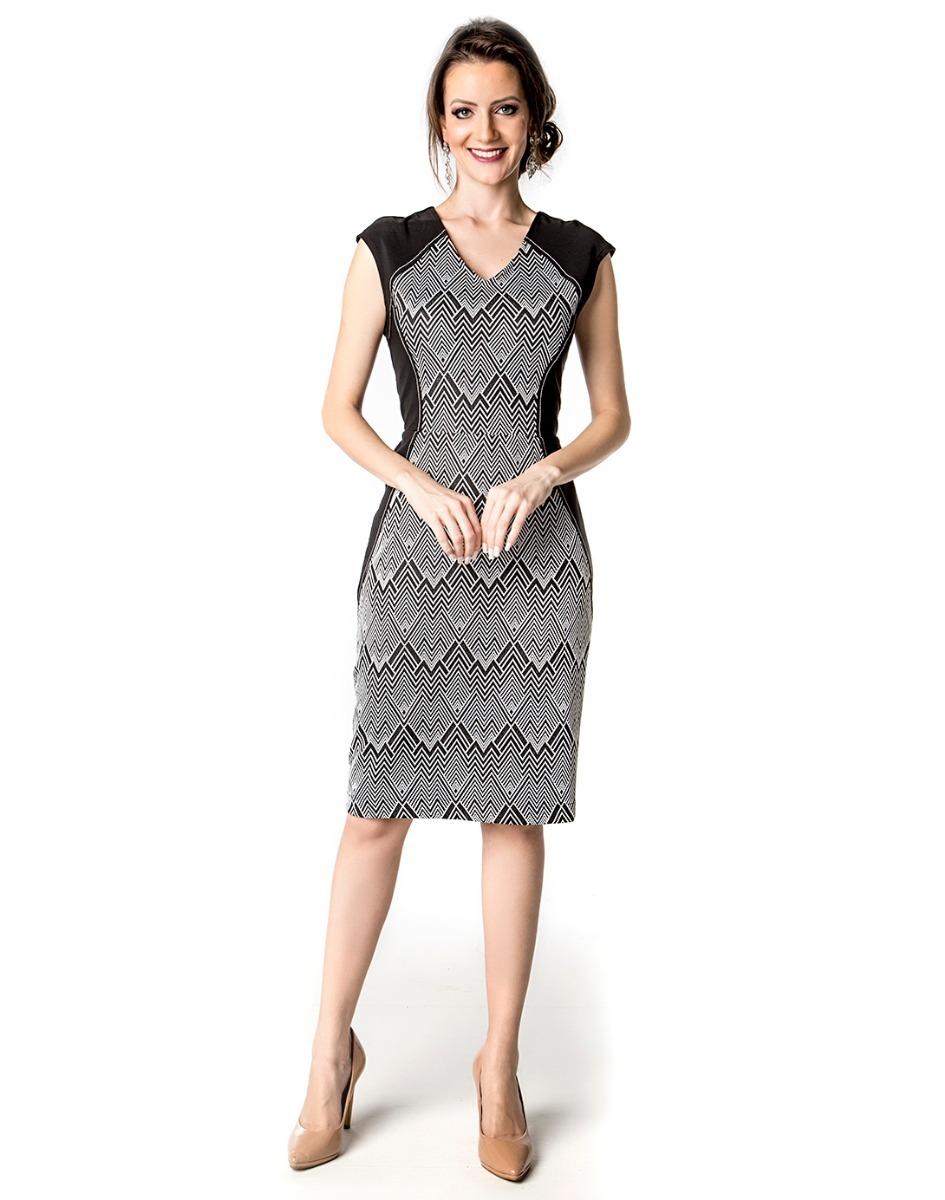 0dc71fd0dd vestido sunny days social tubinho bicolor moda lindo (11510). Carregando  zoom.