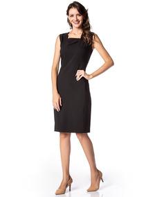 5c3054d21 Vestido Tubinho Com Recortes Laterais - Calçados, Roupas e Bolsas no  Mercado Livre Brasil