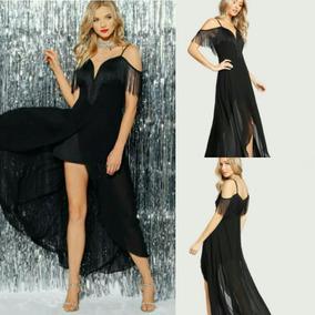 3507a63e3 Vestidos Con Flecos Largos - Vestidos de Mujer en Mercado Libre ...