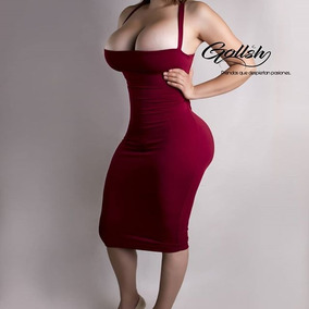 Vestido Super Sexy Rojo De Dama Vestidos Casuales