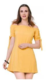 3c9f4740b8a7 Vestido T & Mar Mujer Amarillo Rayon Jr71101