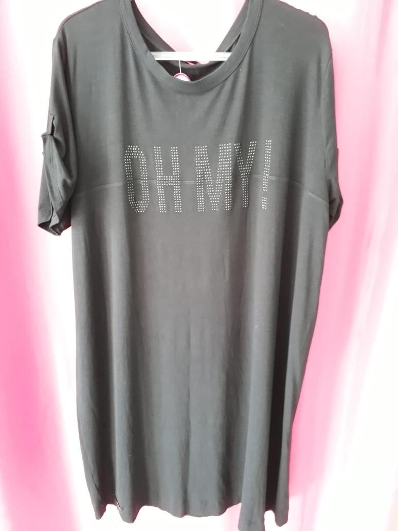 410bd3207d vestido t-shirt plus size. Carregando zoom.
