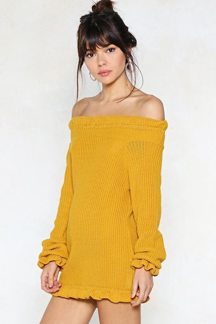 f82cfabc8f3 vestido t. small corto tejido amarillo importado de eeuu. Cargando zoom.