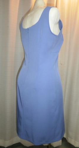 vestido t.30/32, azul, strech,  alyn paige