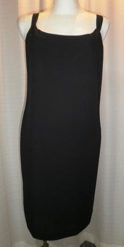 vestido t.34, negro, sencillo, ligero, patra
