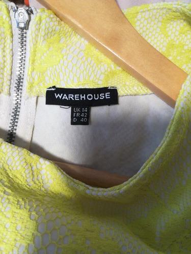 vestido talla l warehouse