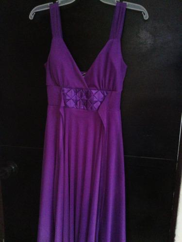 vestido talla s morado