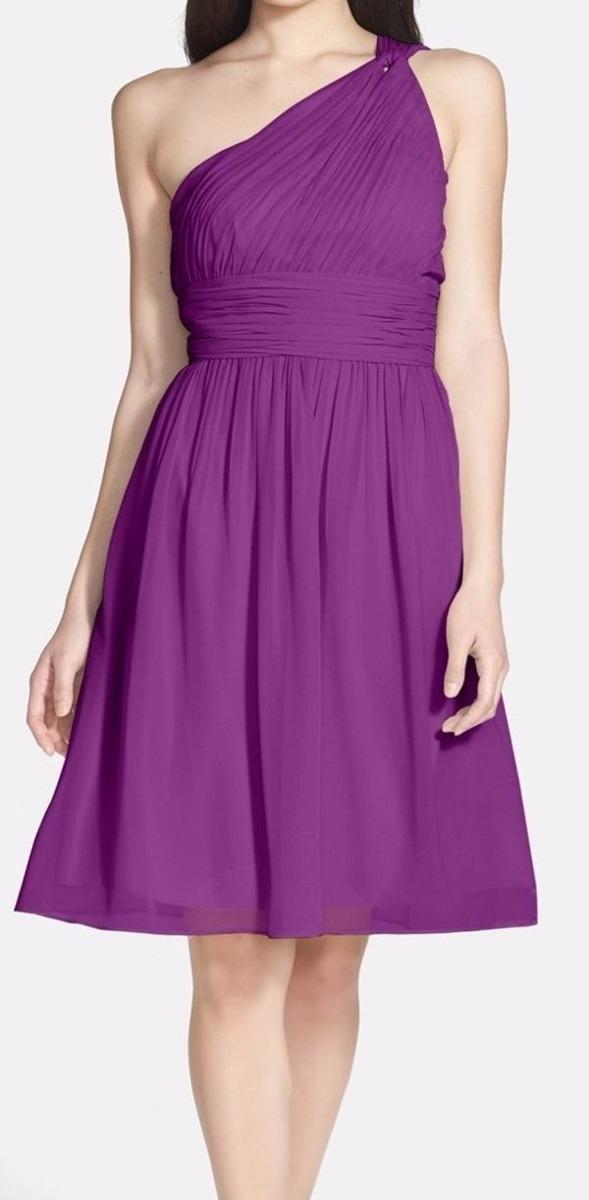 Vestido Talla Xs Donna Morgan Lila - S/ 165,00 en Mercado Libre