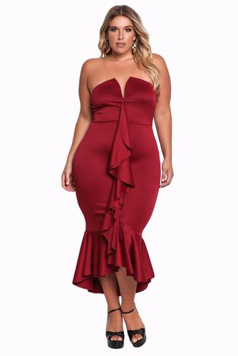 vestido tallas extra xl 2xl 3xl envio gratis rus047