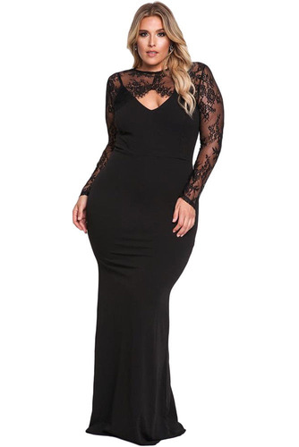 vestido tallas extras con torerito negro tallas grandes moda