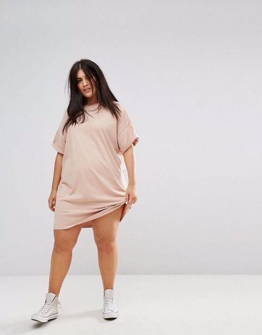 Vestido Tee Camisetão Malha Confort Pp Ao G3 Plus Size Cores