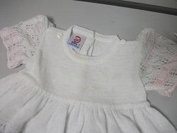 vestido tejido 12 meses blanco usado tienda virtual