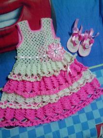 Vestidos Tejidos De Nina Ropa Zapatos Y Accesorios Rosa