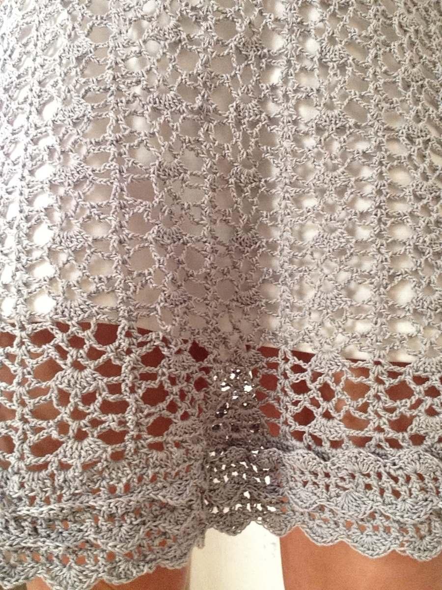 Vestidos de fiesta tejidos al crochet