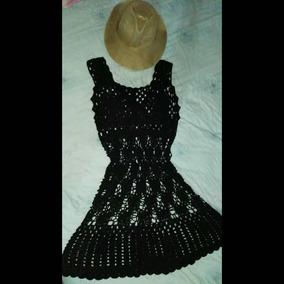 f8afc0f4e Vestido Tejido Crochet Dama - Vestidos de Mujer en Mercado Libre Venezuela